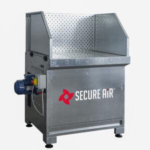 Banco aspirante SBV con ventilatore e filtri integrati