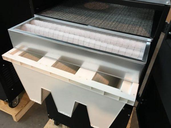 filtri ricambio carrellato fumi di saldatura