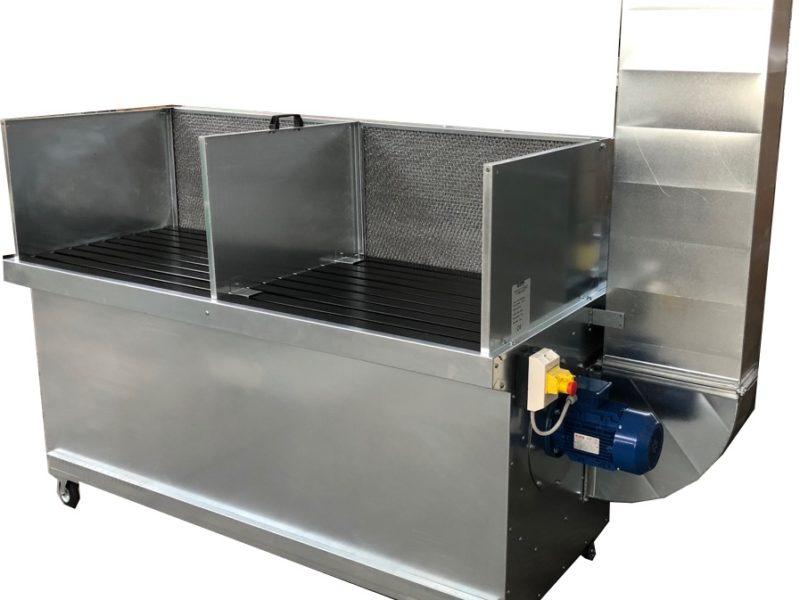 [KIT] Banco aspirante SBV20 con ruote ventilatore e filtri