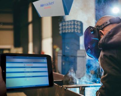 Sensore presenza polveri officina per gestione impianti di aspirazione ventilazione industriale