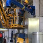Prolunga PRM 160/3 area di lavoro mt 3 tubo d.160