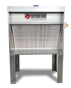 Mini cabina di verniciatura MFP con filtri e aspiratore