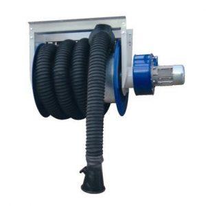 aspiratore gas di scarico arrotolatore
