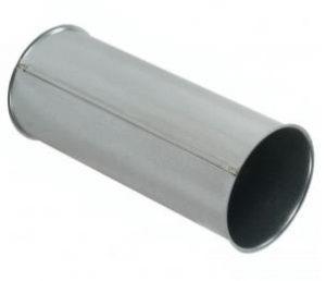 tubazione aria circolare zincata