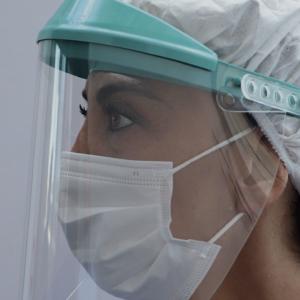 Visiera anti-contagio DPI categoria III