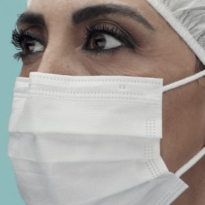 Mascherina chirurgica triplo strato TNT – classe IIR – Italiana