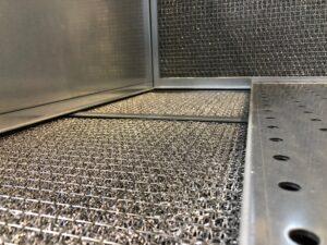 Sottopiano in maglia metallica per banchi SB