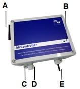 Air Controller WIFI per collegamento a quadro elettrico esterno