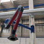 Prolunga EHRM 160/3 area di lavoro mt 3 tubo d.160