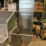 Kit scarico verticale aria pulita in ambiente SBC