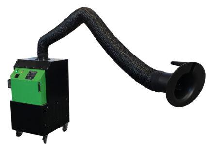 Aspiratore fumi saldatura MFU18WBF con braccio superFLEX